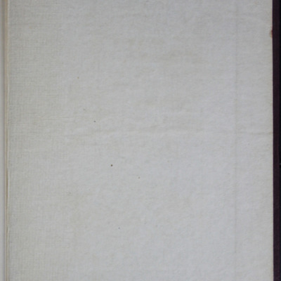"""Back Pastedown in the [1909] Collins' Clear-Type Press """"The Imperial Series"""" Reprint"""