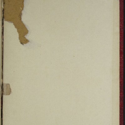 Back Pastedown of the [1897] Bliss, Sands & Co. Reprint