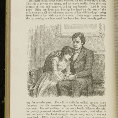 Illustration on Page 560 of the 1896 Hodder and Stoughton Reprint, Depicting Ellen Reuniting with John in Scotland