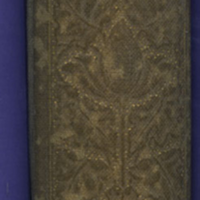 """Spine of the [1904] The Walter Scott Publishing Co. Ltd. """"Complete ed."""" Reprint"""