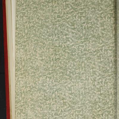 Verso of Back Flyleaf of the [1896] Walter Scott, Ltd. Reprint
