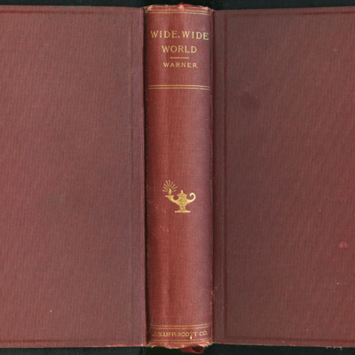 "Full Cover of the 1903 J.B. Lippincott Co. ""New Edition"" Reprint"