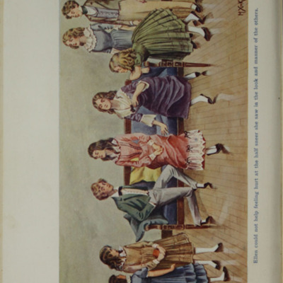 Full-Color Plate on Page 246b of the [1906] Charles H. Kelly Reprint, Depicting Children Playing at the Marshman's