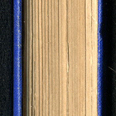Fore Edge of the [1887] W. Nicholson & Sons Reprint, Version 2