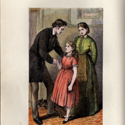 Illustration on Page 272b of the [1899] George Routledge & Sons, Ltd. Reprint, Depicting Ellen Meeting John
