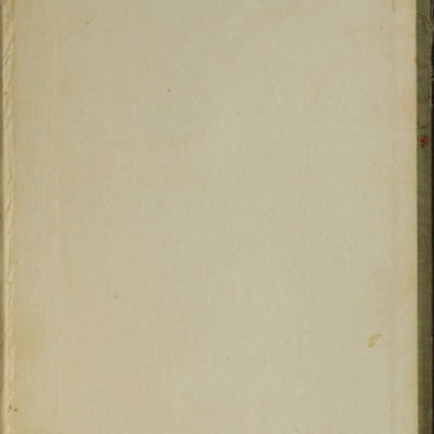 """Back Pastedown of the [1900] Donohue Brothers """"Completed and Unabridged Ed."""" Reprint"""