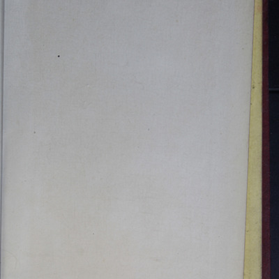 Recto of Back Flyleaf of the G. Bell 1889 Reprint