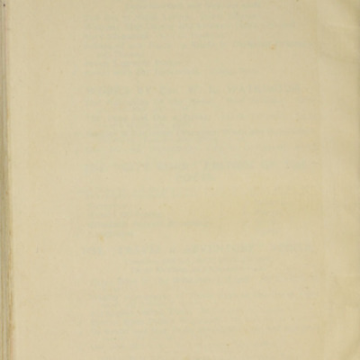 Verso of Back Flyleaf of the [1906] Charles H. Kelly Reprint, Version 2