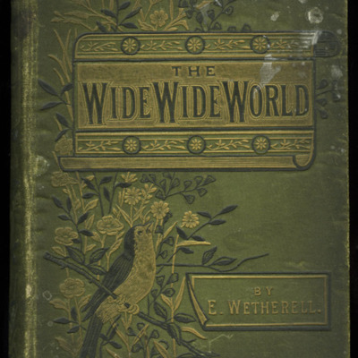 "Front Cover of the [1885] Ward, Lock & Co. ""Home Treasure Library, Complete Edition"" Reprint"
