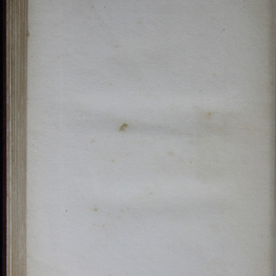 """Recto of Back Flyleaf in the [1909] Collins' Clear-Type Press """"The Imperial Series"""" Reprint"""